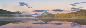 usa/67545 08813 sunrise oxbow bend fall grand teton