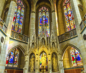 places/altar saints castle wittenberg germany