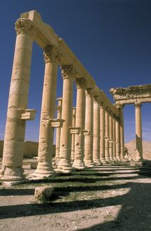Asia, Syria, Palmyra. Temple of Bel