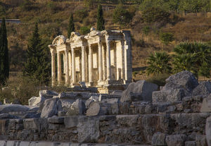 Asia,Turkey, Izmir, Kusadasi. Ephesus (ancient city in Anatolia) was discovered in Selcuk