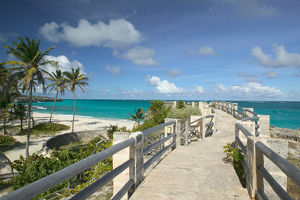 BARBADOS, South East Coast, Long Bay, Harrismith Beach walkway