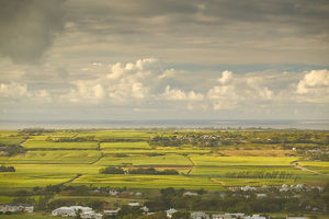 BARBADOS, St. George Parish, Morning Landscape View from Gun Hill Station