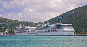 Carnival Cruise Line ships 'Truimph' and 'Glory&quot