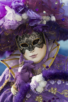 Carnival Venice Italy Masked Costumes