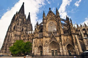 Cologne Cathedral, Cologne, Germany, UNESCO World Heritage Site, North Rhine Westphalia