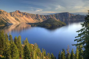 Crater Lake National Park, Crater Lake and Wizard Island