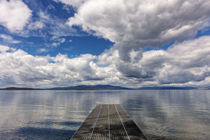 places/dock reaches skidoo bay flathead lake near polson