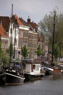 Europe, Netherlands, Middleburg. Canal