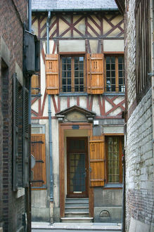 france champagne aube troyeshalf timbered house