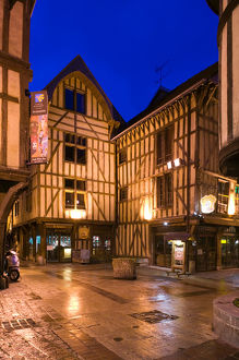 france champagne aube troyeshalf timbered houses
