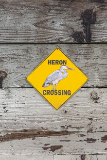 heron crossing sign glendale narrows los angeles