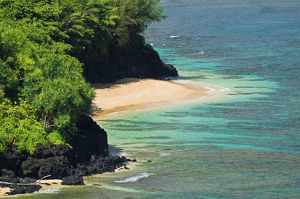 usa/hideaways beach princeville island kauai hawaii