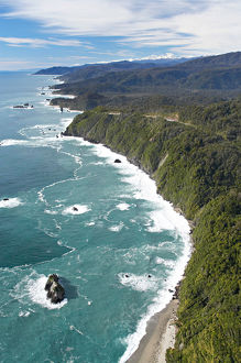 knights point west coast south island new zealand