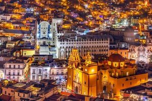 Our Lady of Guanajuato Church University Templo Companiea Guanajuato, Mexico From