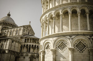 europe/leaning tower pisa cathedral pisa tuscany italy