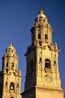 mexico michoacan morelia 200 foot twin towers