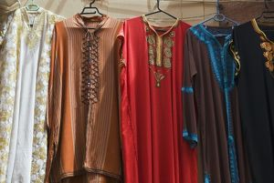 moroccan clothes sale souk medina marrakech
