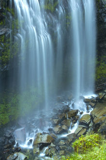 usa/narada falls mount rainier national park washington