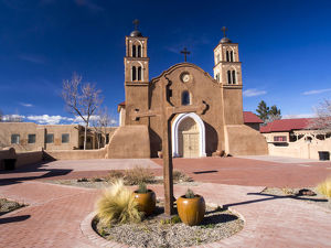 North America;USA;New Mexico;Socorro;Mission San Miguel Socorro