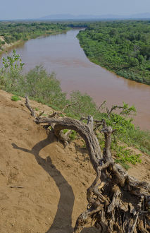 omo river omorate ethiopia africa lower omo valley