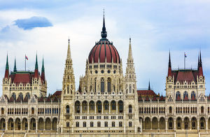 Parliament Building Budapest Hungary. Parliament Building built betwwn 1885 to 1904