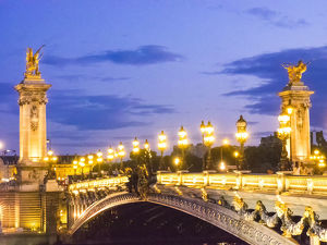 architecture/pont alexandre iii bridge crossing seine river