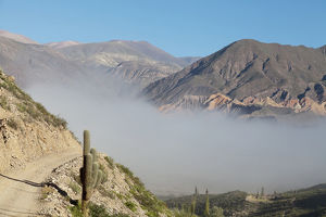 south america argentina province jujuy view