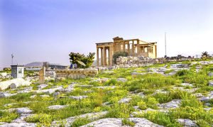 cityscapes/temple erechtheion athens greece