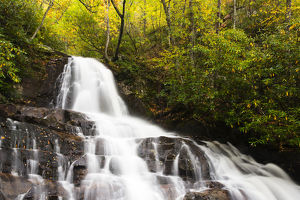 Tennessee, Great Smoky Mountains National Park, Laurel Falls