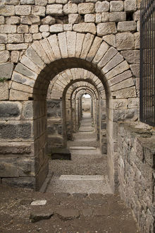Turkey, Bergama, Pergamon. UNESCO World Heritage Site