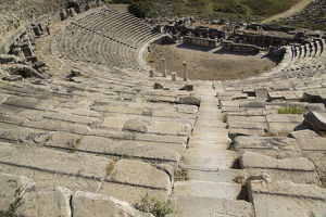 Turkey, Miletus, a major Ionian center of trade and learning in the ancient world