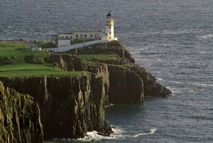 United Kingdom, Scotland, Isle of Skye, Neist Point lighthouse