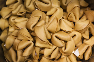 USA, California, San Francisco, Chinatown, fortune cookie factory