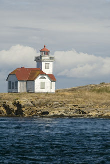 USa, WA, San Juan Islands. Patos Island Light