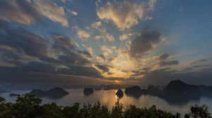 asia/vietnams ha long bay dramatic landscapes southeast