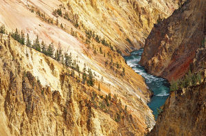 landscape/yellowstone river canyon grandview point