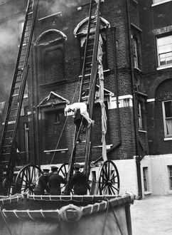 London Fire Brigade Annual Review demonstration
