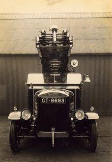 Morris Magirus vehicle with turntable ladder