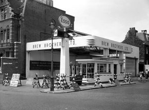 Petrol station, Old Brompton Road, London SW7