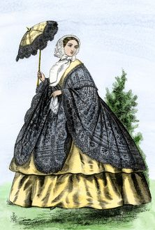 American fashion of the 1860s