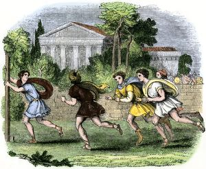 Ancient Greek marathon
