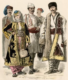 Balkan people, 1800s