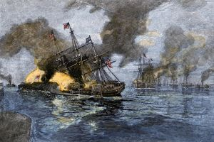 Battle of Mobile Bay, Civil War, 1864
