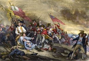 Bunker Hill battle, 1775