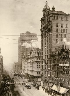 Chicago's State Street, 1890s