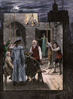 Christmas bell-ringers in England, 1700s