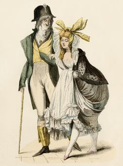 Couple during the French Revolution