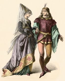 Courtship in medieval Burgundy