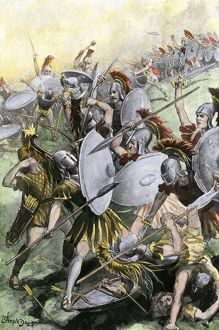 Defeat of Athenian army at Syracuse, 413 BC