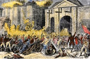 Fall of the Bastille in the French Revolution